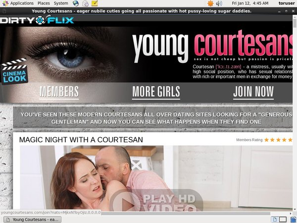 Young Courtesans Account Gratis