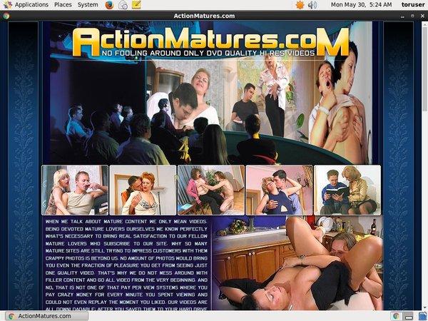 Accounts Of Actionmatures.com