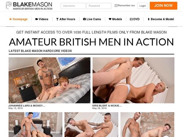 Blake Mason Subscription
