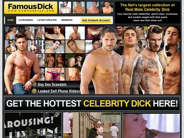 Famous Dick Password