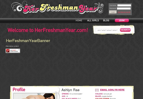Free Passwords For Her Freshman Year