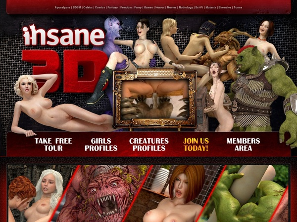 Get Into Insane3d.com Free