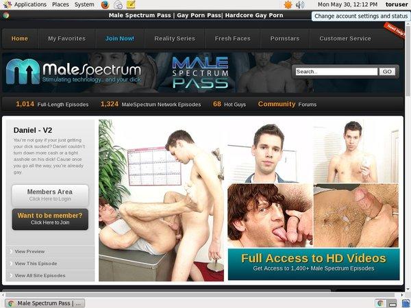 Malespectrumpass.com Membership