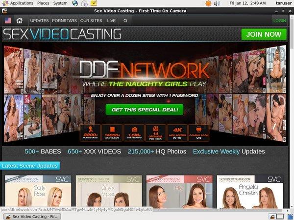 Sexvideocasting Euro Direct Debit