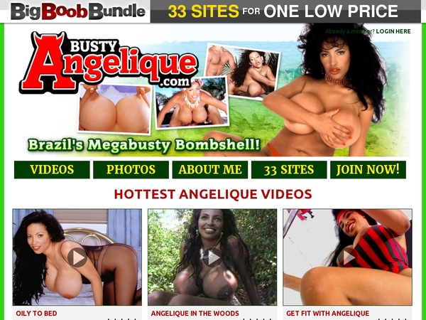 Busty Angelique Accounts And Passwords