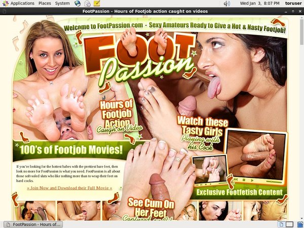 Footpassion.com Join Now