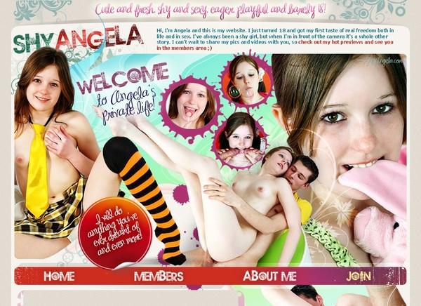 Free Account On Shyangela.com