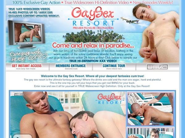 Gay Sex Resort Free Trial