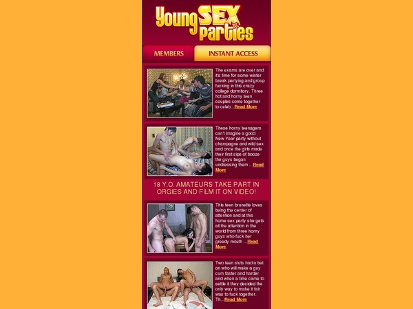 Mobile.youngsexparties.com Account And Password