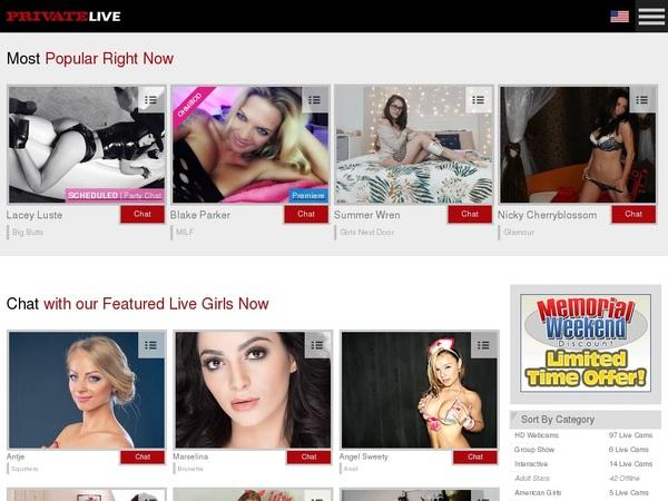 Privatelive.com Porn Pass