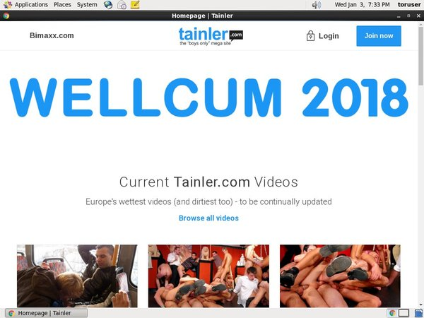 Tainler.com Gratis Password