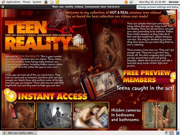 Teensexreality.com With Master Card