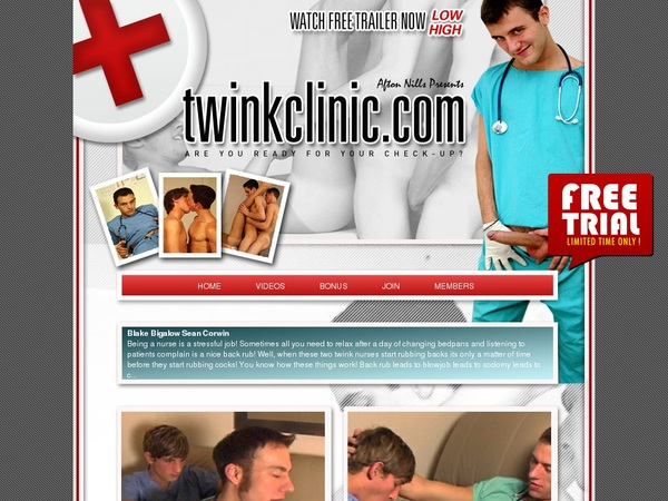 Twink Clinic Logins