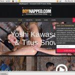 Boynapped Website Password