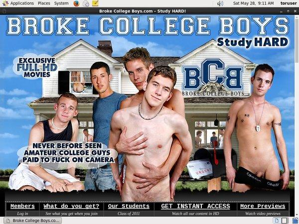 Brokecollegeboys.com Free Movies