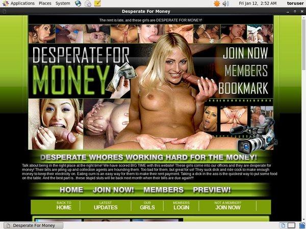 Desperateformoney.com Hub