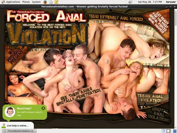 Forcedanalviolation.com Pass Premium