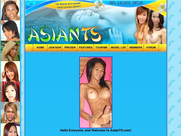Free Asian TS User And Pass