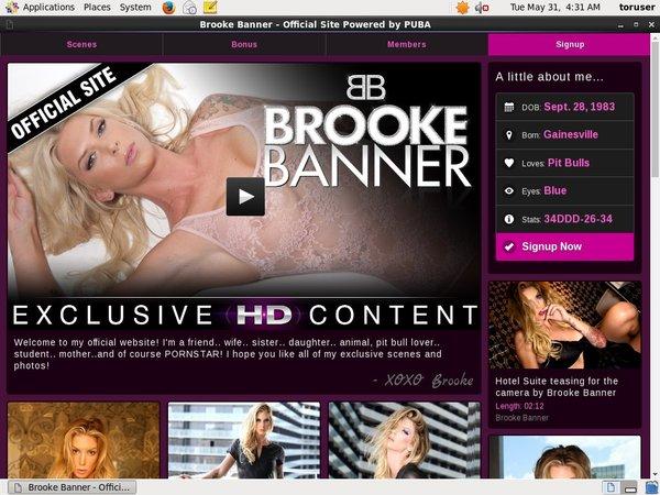 New Brookebrandxxx.com Accounts