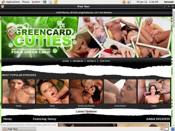 Premium Greencardcuties