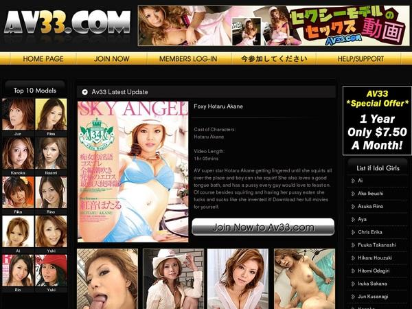 Av33.com Account Creator