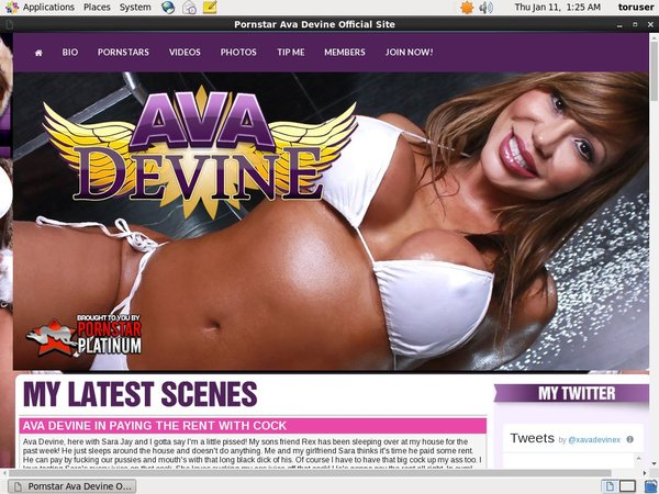 Ava Devine With Paypal