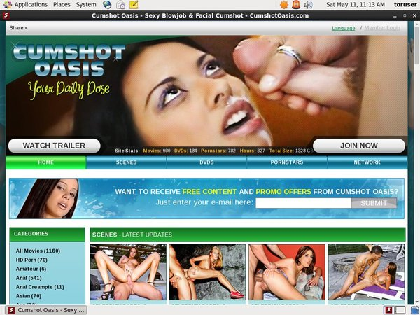 Cumshotoasis Free Account And Password