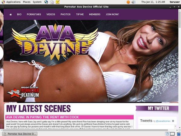 Free Ava Devine Account