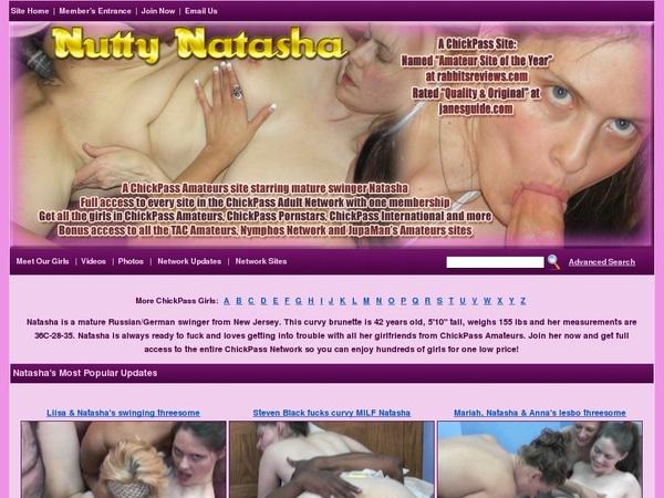 Nutty Natasha Accounts