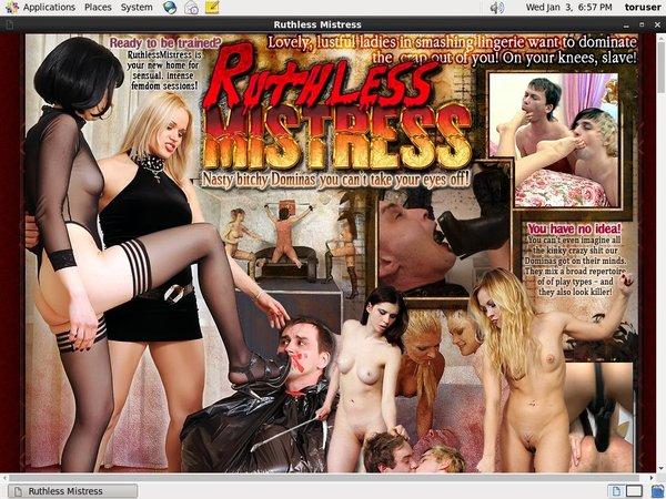 Ruthless Mistress Con Deposito Bancario