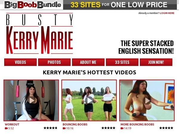Busty Kerry Mariepassword