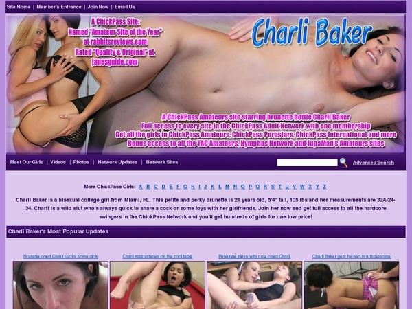 Inside Charlibaker.com