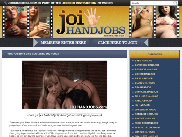 JOI Handjobs Gift