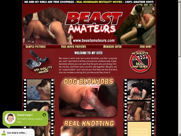 Members Beast Amateurs