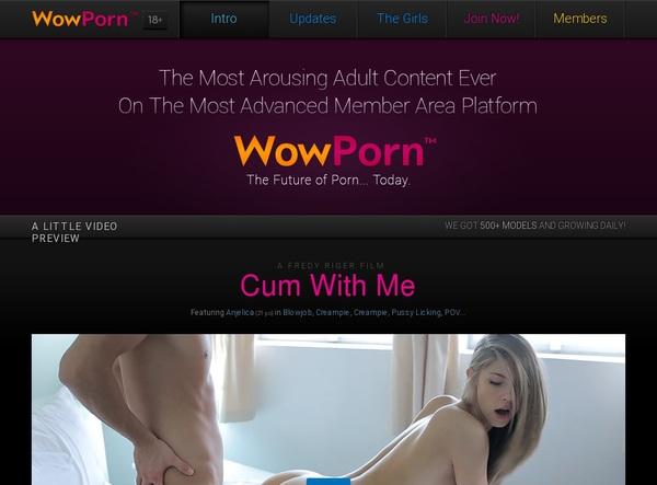 Passwords Wowporn.com