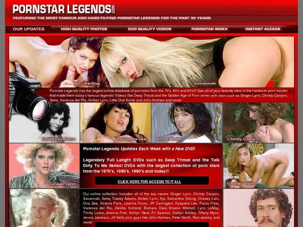 Pornstar Legends Password Account