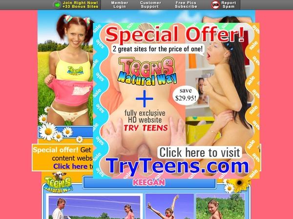 Sign Up For Teensnaturalway.com
