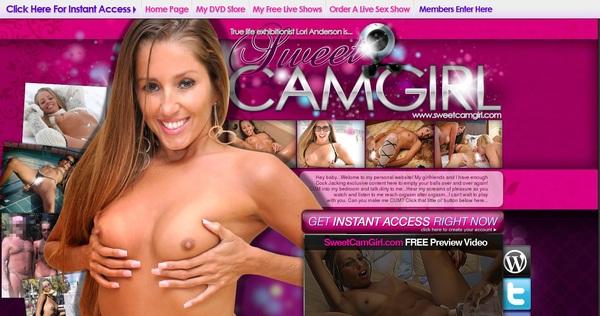Sweetcamgirl Premium Accounts Free