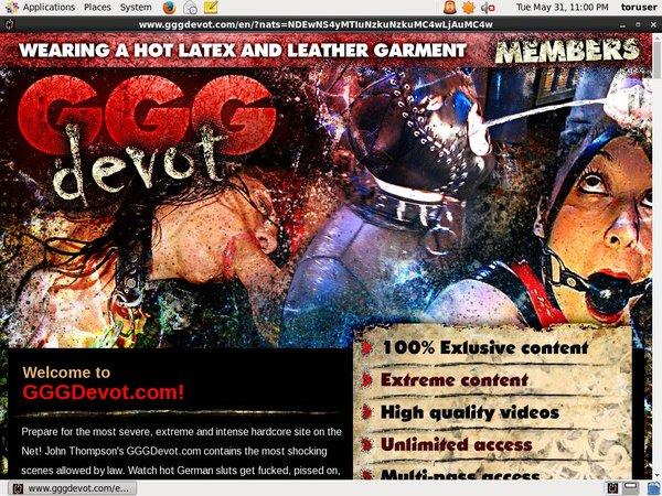 Accounts Gggdevot Free