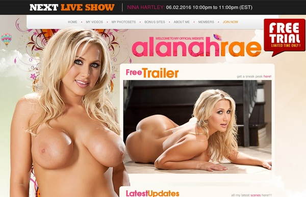 Alanah Rae Passwords For Free