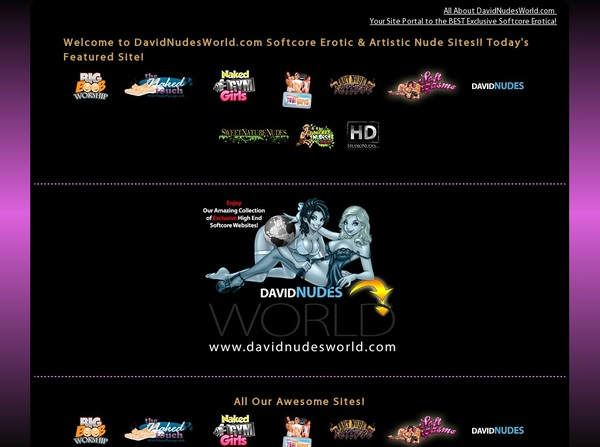 Free David Nudes World Passwords