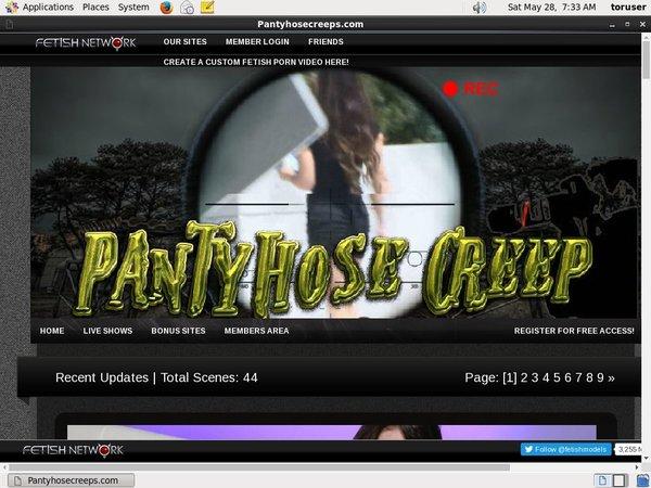 Get Free Pantyhosecreep.com Passwords
