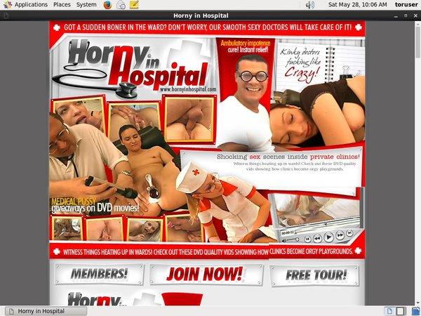 Hornyinhospital.com Password Login