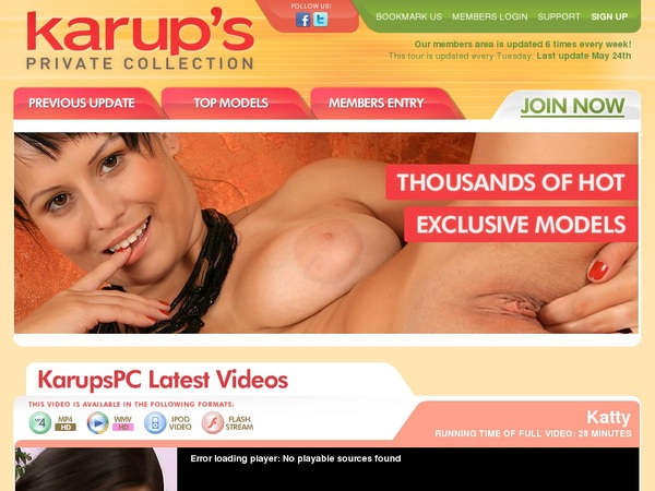 Karupspc Videos For Free