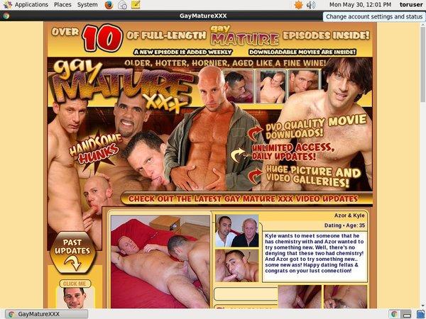 Logins For Gaymaturexxx.com