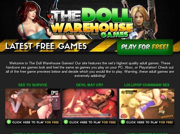 Thedollwarehousegames.com Free Acc