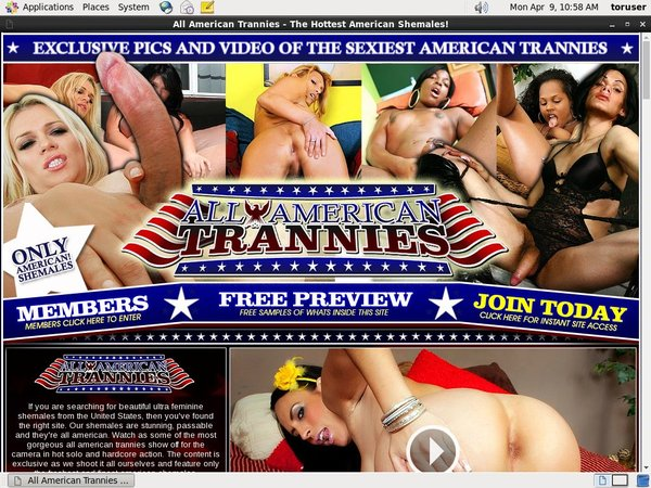 All American Trannies Porn Video
