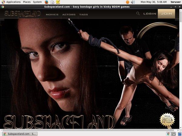 Subspaceland.com Full Site
