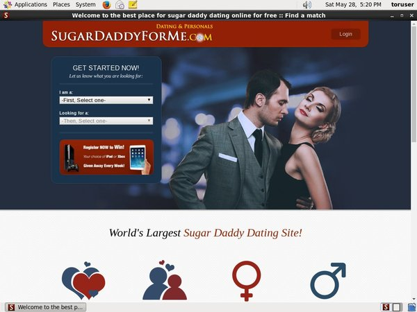 Account On Sugardaddyforme