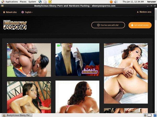 Ebony Ass Porno Daily Passwords